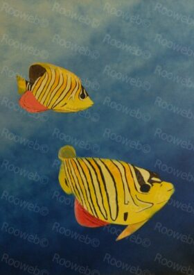Fish Underwater Painting
